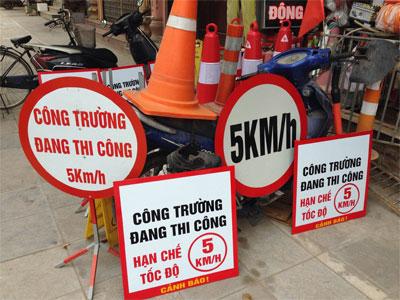 Sản xuất biển báo giao thông-Công ty cung cấp bien bao công trường giá rẻ