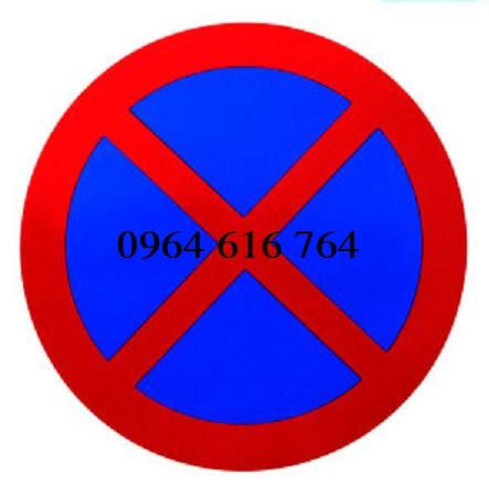 Biển báo cấm dừng dừng xe và đỗ xe