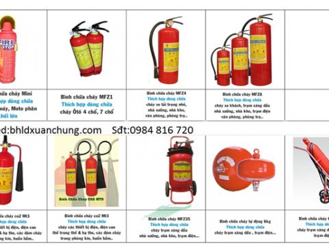 Bình Cứu hỏa – Bình chữa cháy