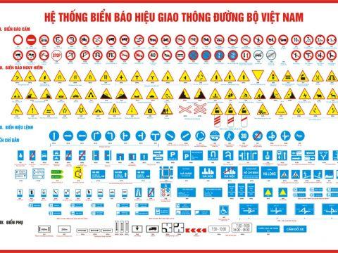 Sản xuất biển cảnh báo an toàn giao thông đường bộ giá rẻ