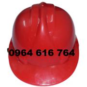 Mũ công nhân Nhật Quang Màu Đỏ – Loại 1