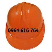 Mũ công nhân Nhật Quang Màu Cam Loại 1