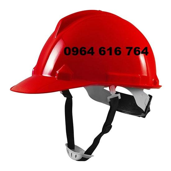 mũ bảo hộ thùy dương màu đỏ