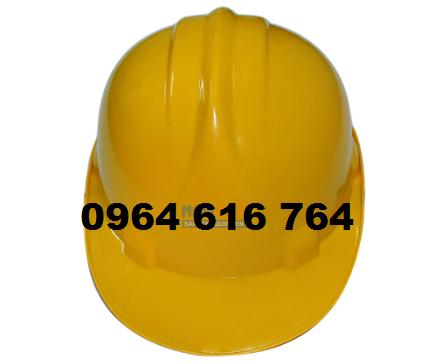 mũ công nhân màu vàng loại 1