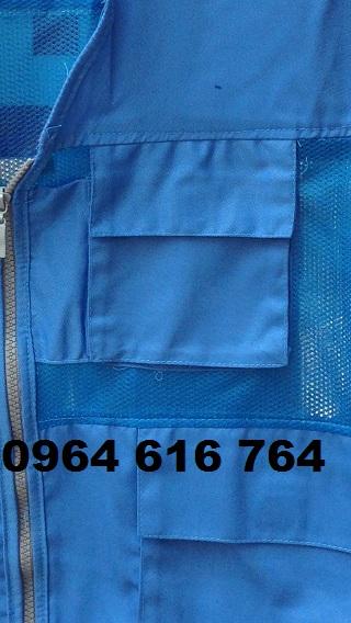 Áo gile túi hộp phản quang