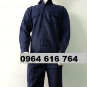 Quần áo công nhân tím than