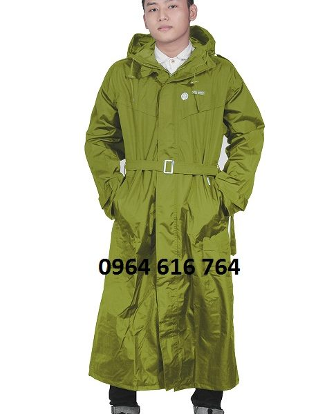 Áo mưa măng tô sỹ quan quân đội đẹp