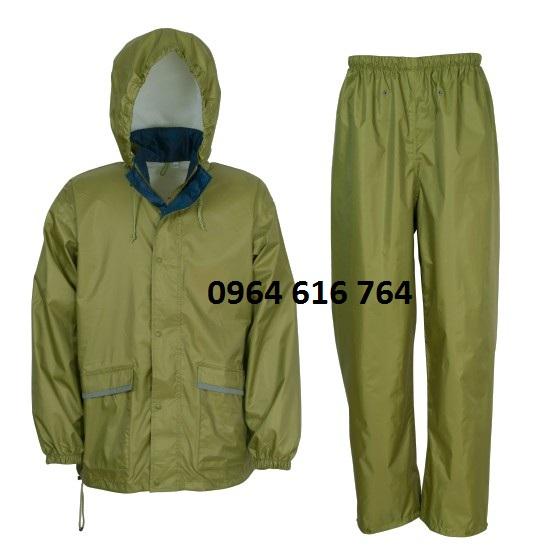 Quần áo mưa quân nhu
