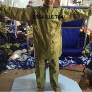 Bộ quần áo mưa quân đội