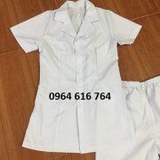 Áo blouse trắng nữ