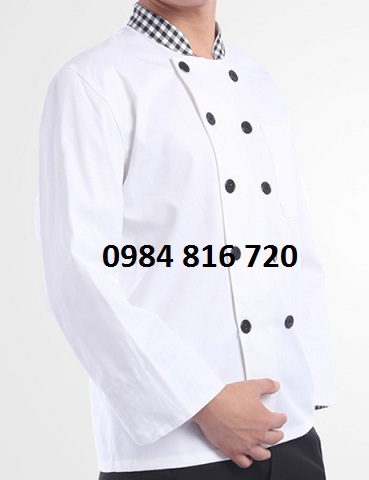 Áo bếp nam nữ