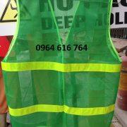 Áo lưới phản quang màu xanh lá( Xanh môi trường)