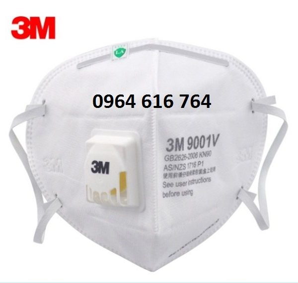 Khẩu trang chống độc 3M 9001V