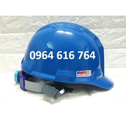 Mũ bảo hộ SSEDA Hàn Quốc - Màu xanh dương