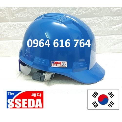 Mũ bảo hộ SSEDA Hàn Quốc - Màu Xanh
