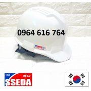 Mũ bảo hộ SSEDA Hàn Quốc – Màu trắng