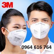 Khẩu trang chống độc 3M 9001
