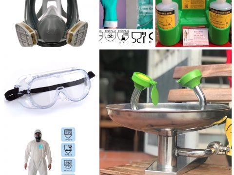Bật mí 7+ sản phẩm cần khi làm việc với hóa chất