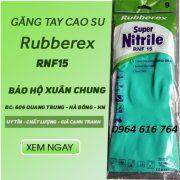 Găng tay Rubberex RNF15( chống Axit nhẹ)