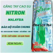 Găng tay chống hóa chất dài Nitron