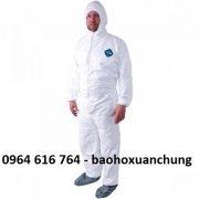 Quần áo chống hóa chất Dupont Tyvek Coverralls