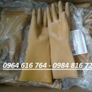Găng tay cao su cách điện 15KV
